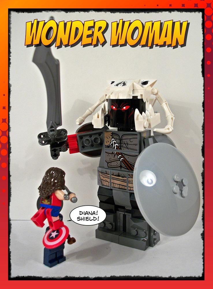 Wonder Woman! Shield!