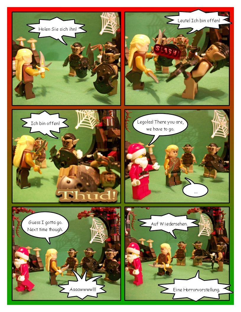 Legolas, The Christmas Elf - Part One
